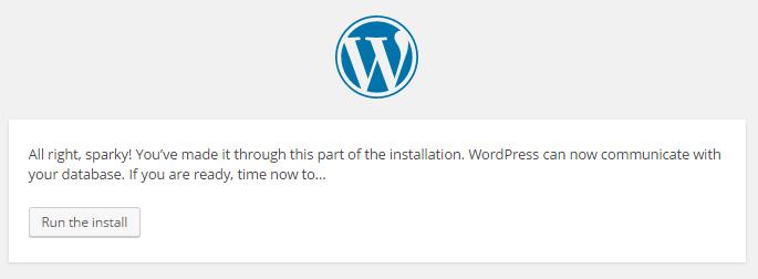 Wordpress Config Complete