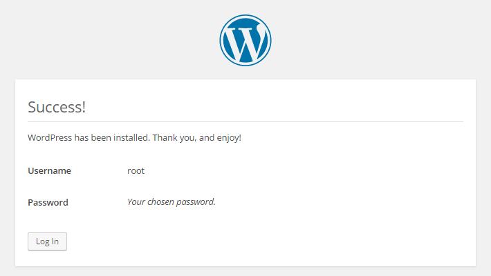 Wordpress Setup Final