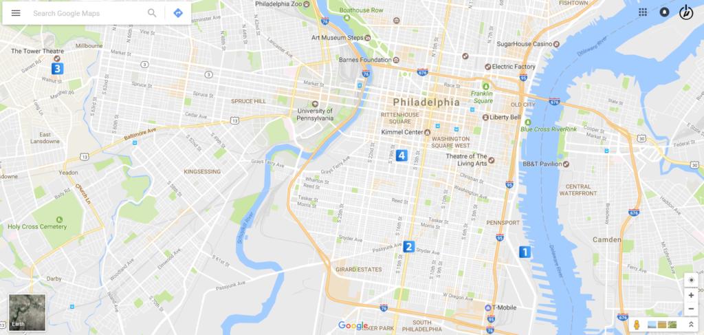 Testing Map