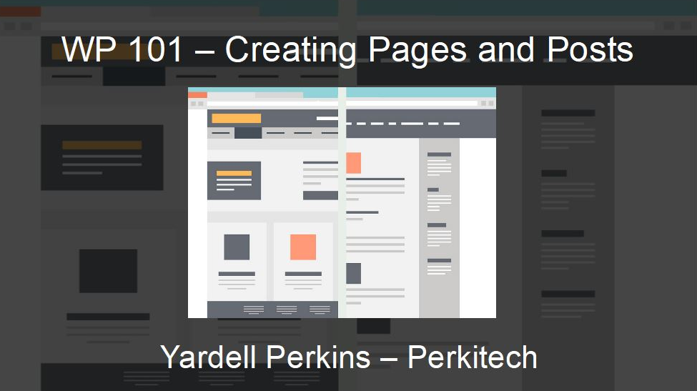 Creating Pages and Posts in WordPress