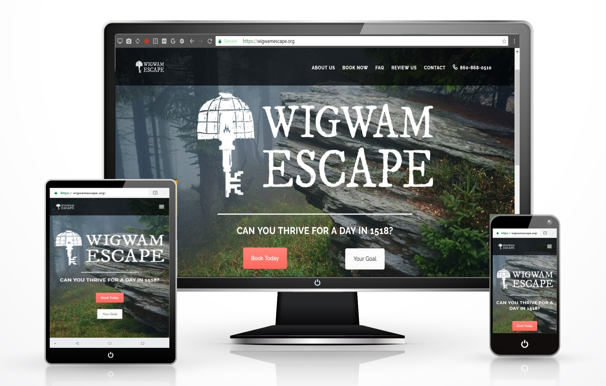 Escape Room Website