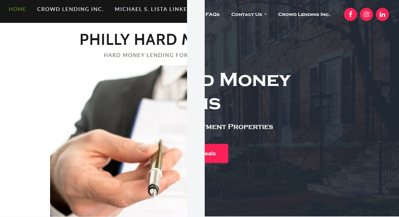 Case Study: Hard Money Lending Site