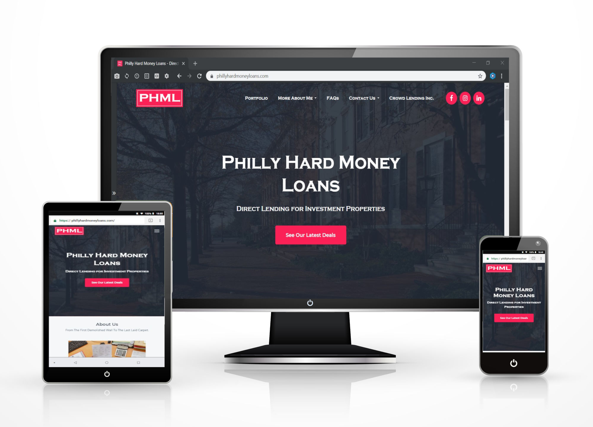 Hard Money Lending Site